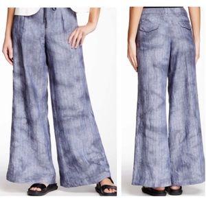NWT Anthropologie Marrakech Linen Wide Leg Pants